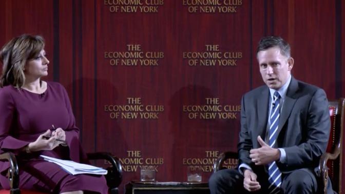 Peter Thiel predicts Trump will get re-elected