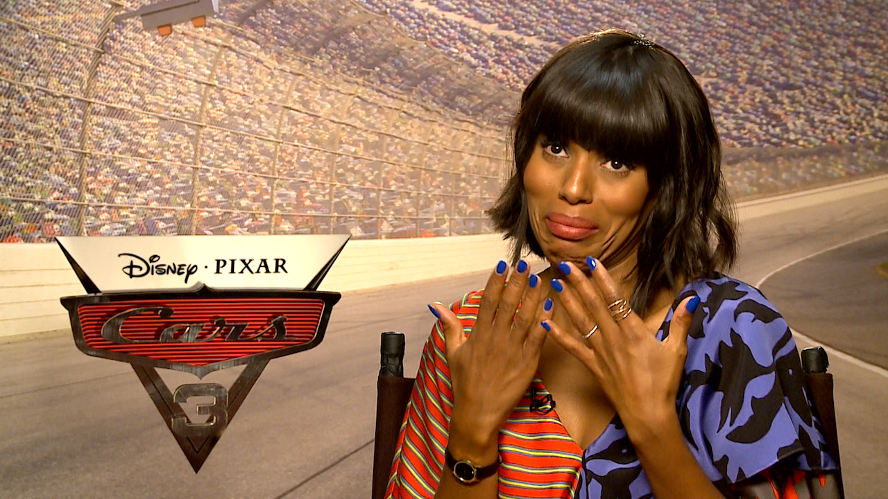 kerry washington and company theorize what happened to all the people in the 39 cars 39 universe video. Black Bedroom Furniture Sets. Home Design Ideas