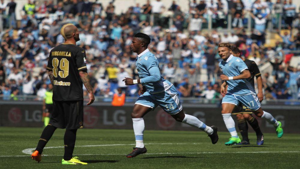 Lazio-Palermo, tripletta in 6' per Keita: ma il record è di Valentino Mazzola