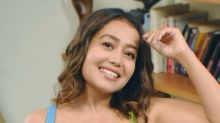 Neha Kakkar's Cheerful Blue Attire Will Lift You Away From Quarantine Blues