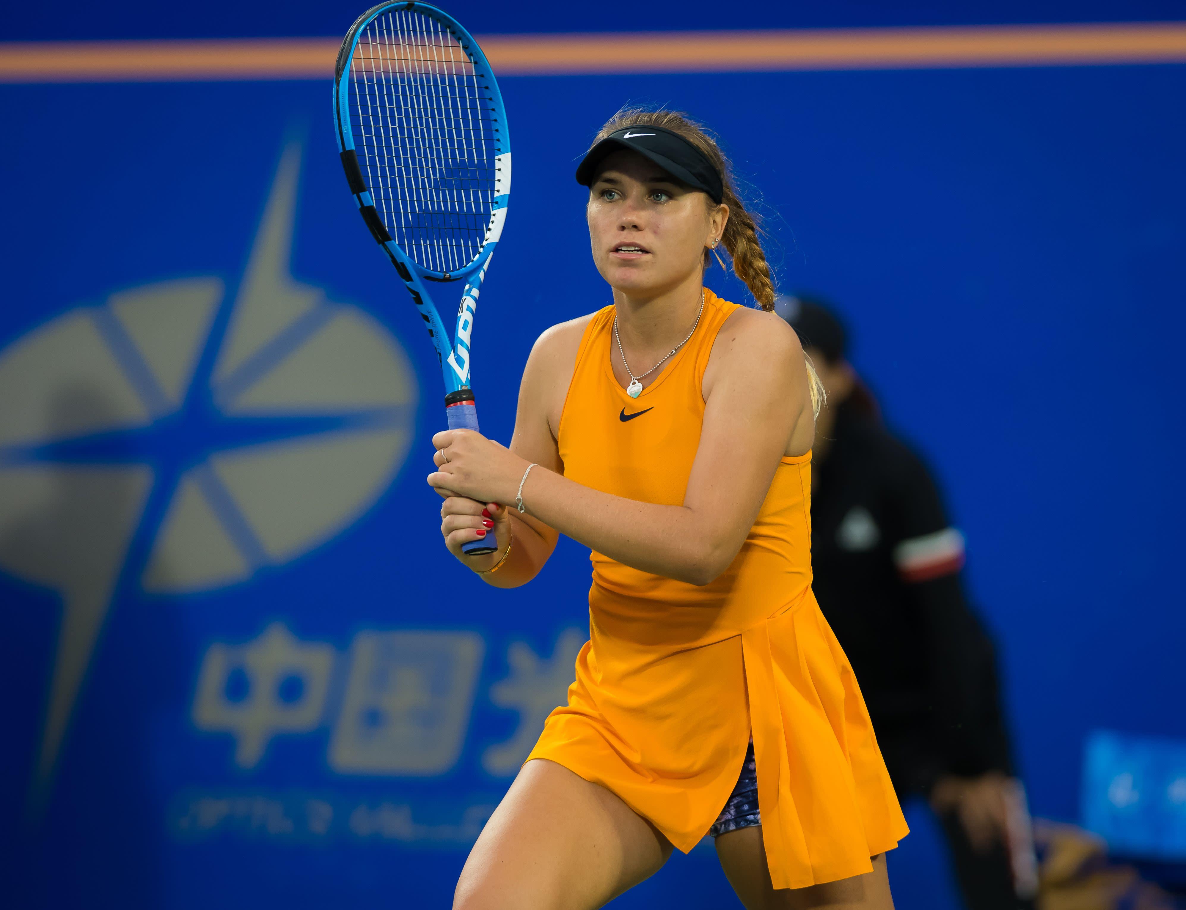 Fila Signs Sponsorship Agreement With WTA Rising Star Sofia