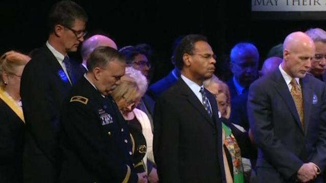 U.S. Attorney General honors victims of Kansas Jewish center shootings