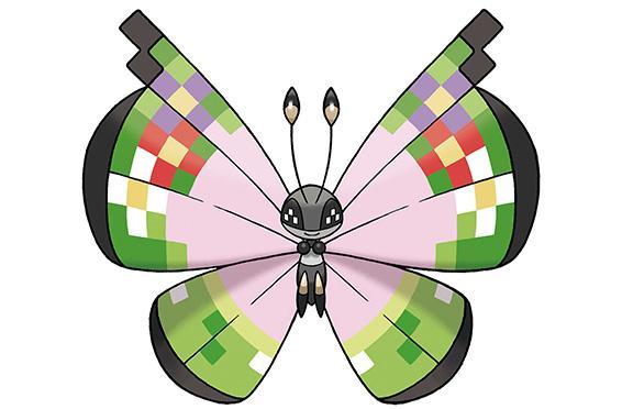 Catch this fancy bug in Pokemon X/Y