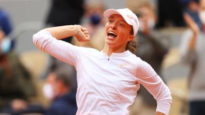 Polish teen stuns Kenin to win French Open