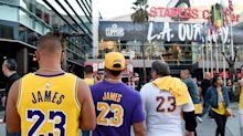 China protests hit Lakers-Clippers opener as activists hand out 13,000 pro-Hong Kong T-shirts