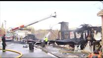 Fast-Moving Fire Destroys Two Buildings In Gardner