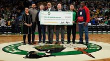 Celtics and fans raise more than $100k for #SunLifeDunk4Diabetes campaign with record-breaking 64 dunks and over 10,000 hashtags