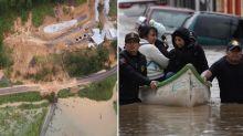 Landslide buries more than 100 people in their homes
