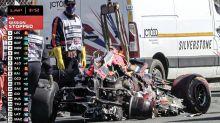 """Hamilton vs. Verstappen: el auto """"destrozado"""" y cuánto saldrá intentar salvar algunas piezas"""