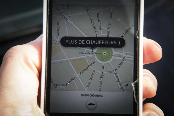 France fines Uber for illegal ridesharing
