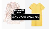 Mid-Season Sale: 5 Top Picks Under £20
