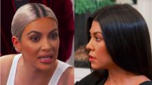 Kim Kardashian Disses Kourtney As 'Least Exciting To Look At' In Brutal Fight