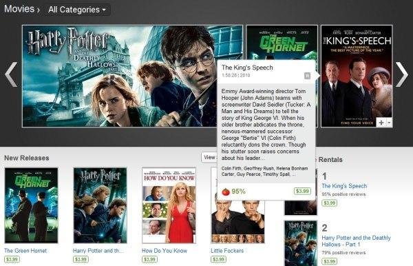 Google is blocking Android Market movie rentals on rooted devices because of copy protection