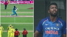 India vs Australia 2017, 2nd ODI: Hardik Pandya's lucky escape is SK Play of the Day