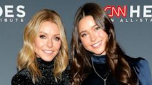 Kelly Ripa's daughter Lola calls 'thirst trap' photos of dad Mark Consuelos 'disgusting': 'I blocked that out of my mind'