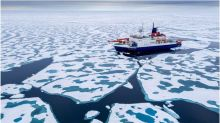 Arctic sea-ice shrinks to near record low extent