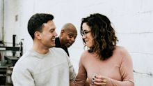 Dave Chappelle photobombs engagement shoot after learning the groom-to-be is in the Air Force