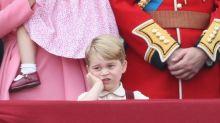 喬治小王子表情再次搶去焦點!Trooping the Colour 巡遊上連擺納悶表情以示不滿!