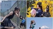 【多圖】日本靚女同公仔一模一樣 遊歷日本拍攝相集