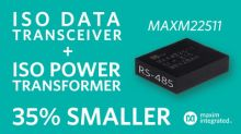 Maxim Delivers Smallest, Highly Efficient Isolated RS-485 Module for Industry 4.0