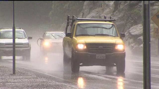 Watch: Cars Pass Through Huge Mudslide