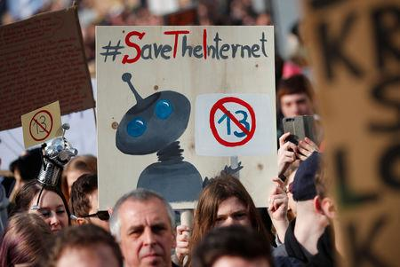 Image result for EU copyright reforms pit creative industry against internet activists, consumers
