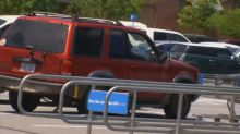 Pregnant SUV driver arrested after allegedly running down suspected thief