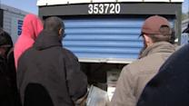 Fortune hunters flock to storage unit auction