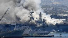 Defense official: Arson suspected as cause of Navy ship fire