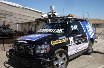 DARPA's Urban Challenge ends: six cars cross the line, CMU takes 1st place