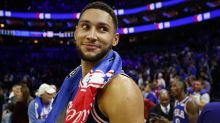 Ben Simmons breaks NBA three-point drought