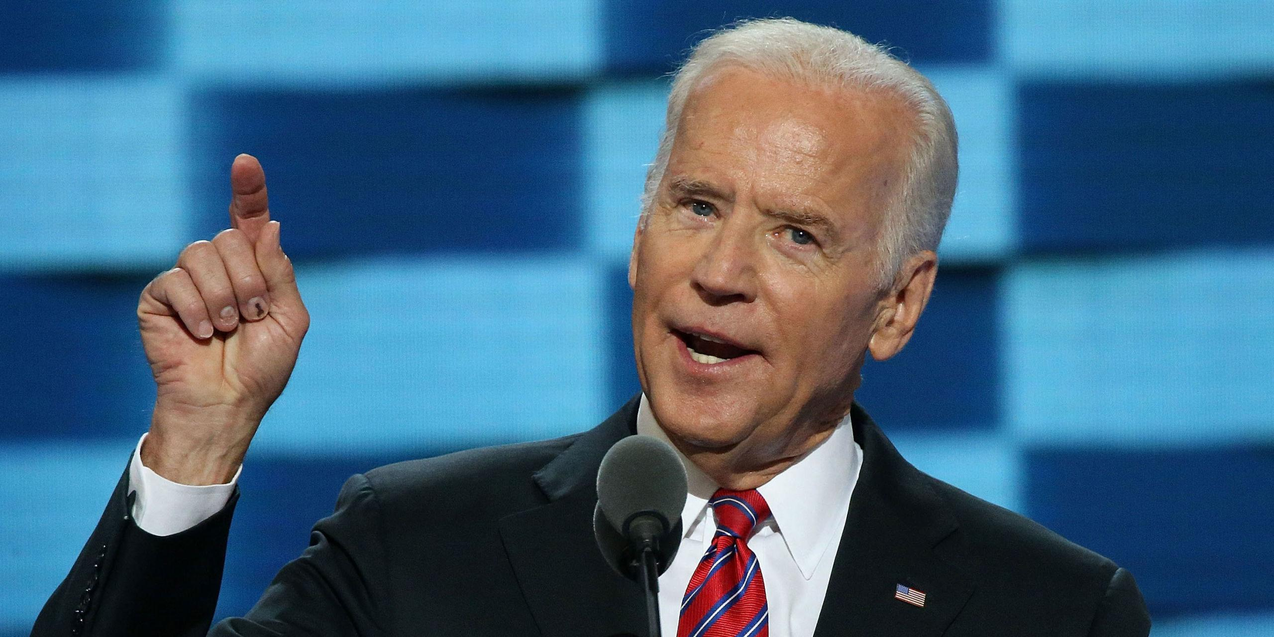 This Photo of Joe Biden Officiating a Same-Sex Wedding Is Absolutely Lovely