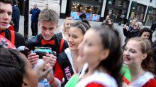 Children enjoy Hamleys Toy Parade on Regent Street in London