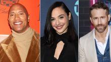 """So viel zahlt Netflix Dwayne Johnson, Gal Gadot und Ryan Reynolds für """"Red Notice"""""""