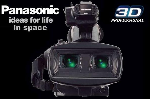 Panasonic's AG-3DA1 camera will shoot 3D video, Robonaut vlogs on the International Space Station