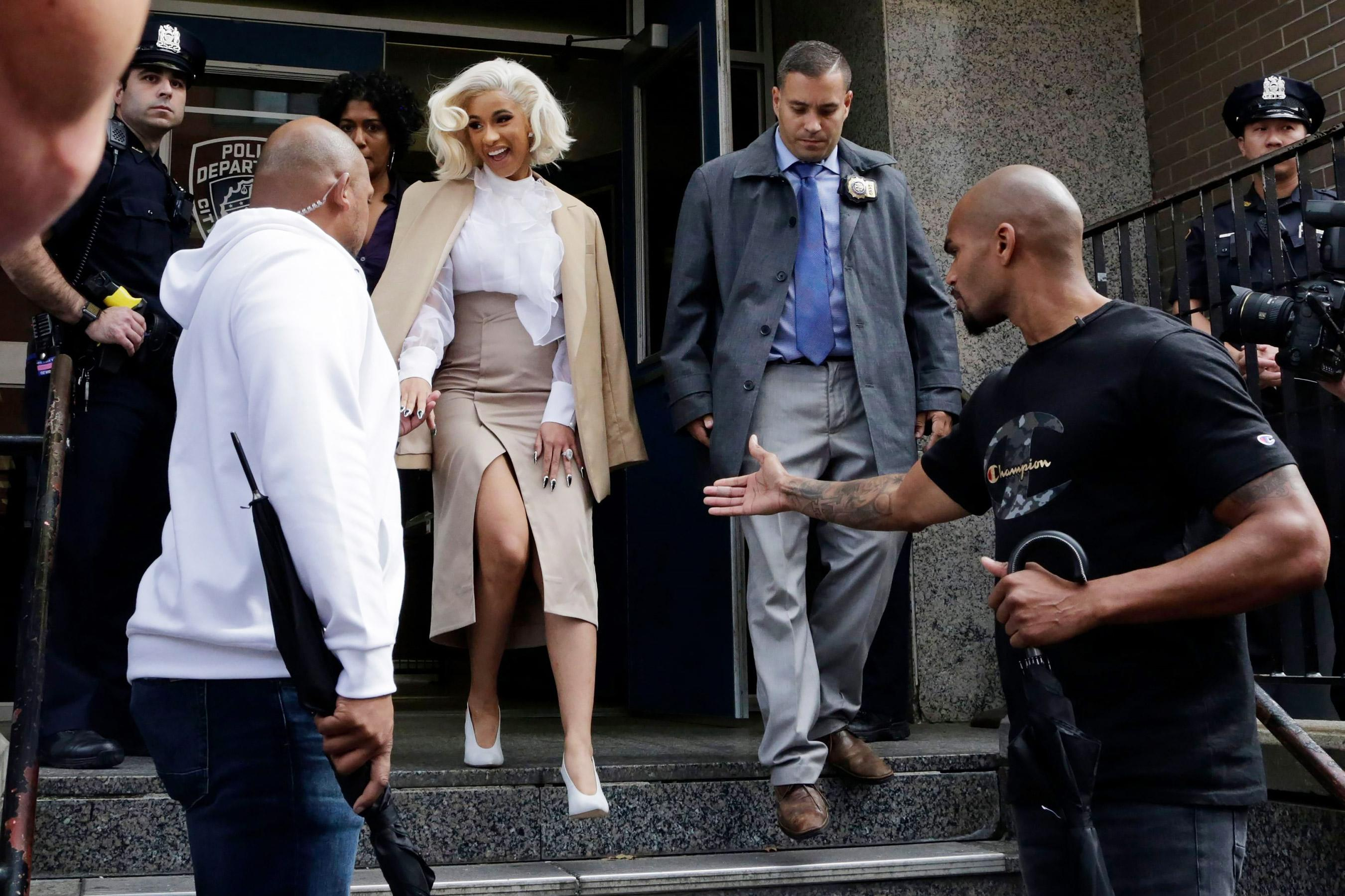 10a96f2f341f Everything We Know About Cardi B s Fight at an NYC Strip Club Last August