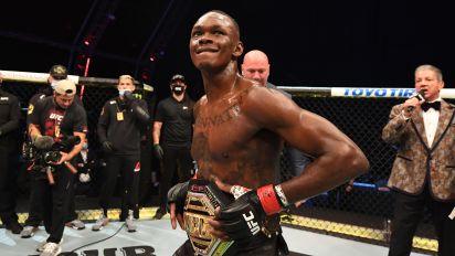 Adesanya on path toward UFC legend status