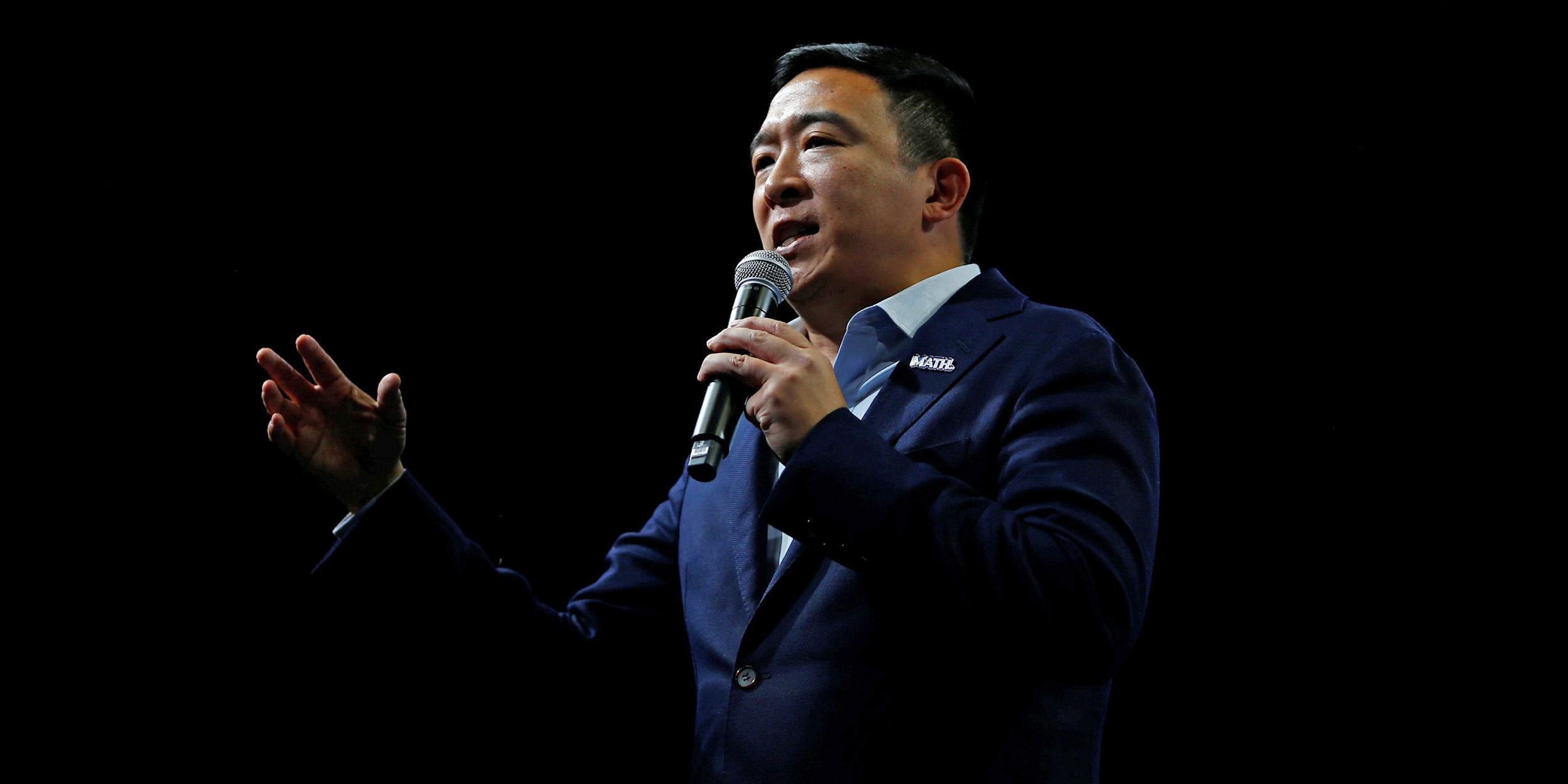 Andrew Yang urges Asian Americans to vote for Biden