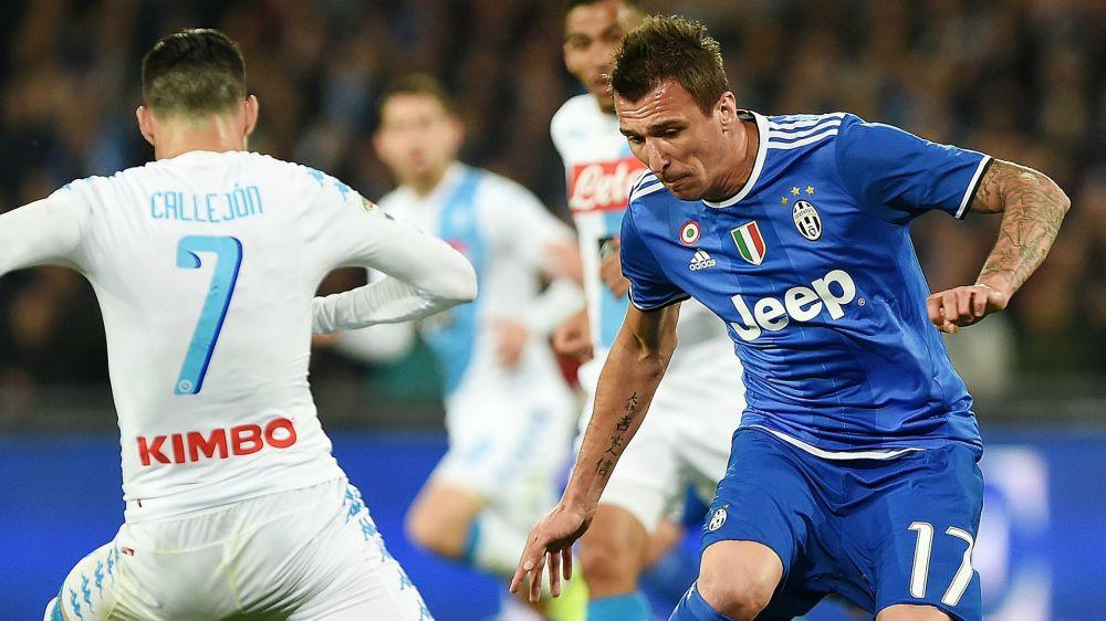 Mandzukic dà forfait: non convocato per Napoli-Juventus