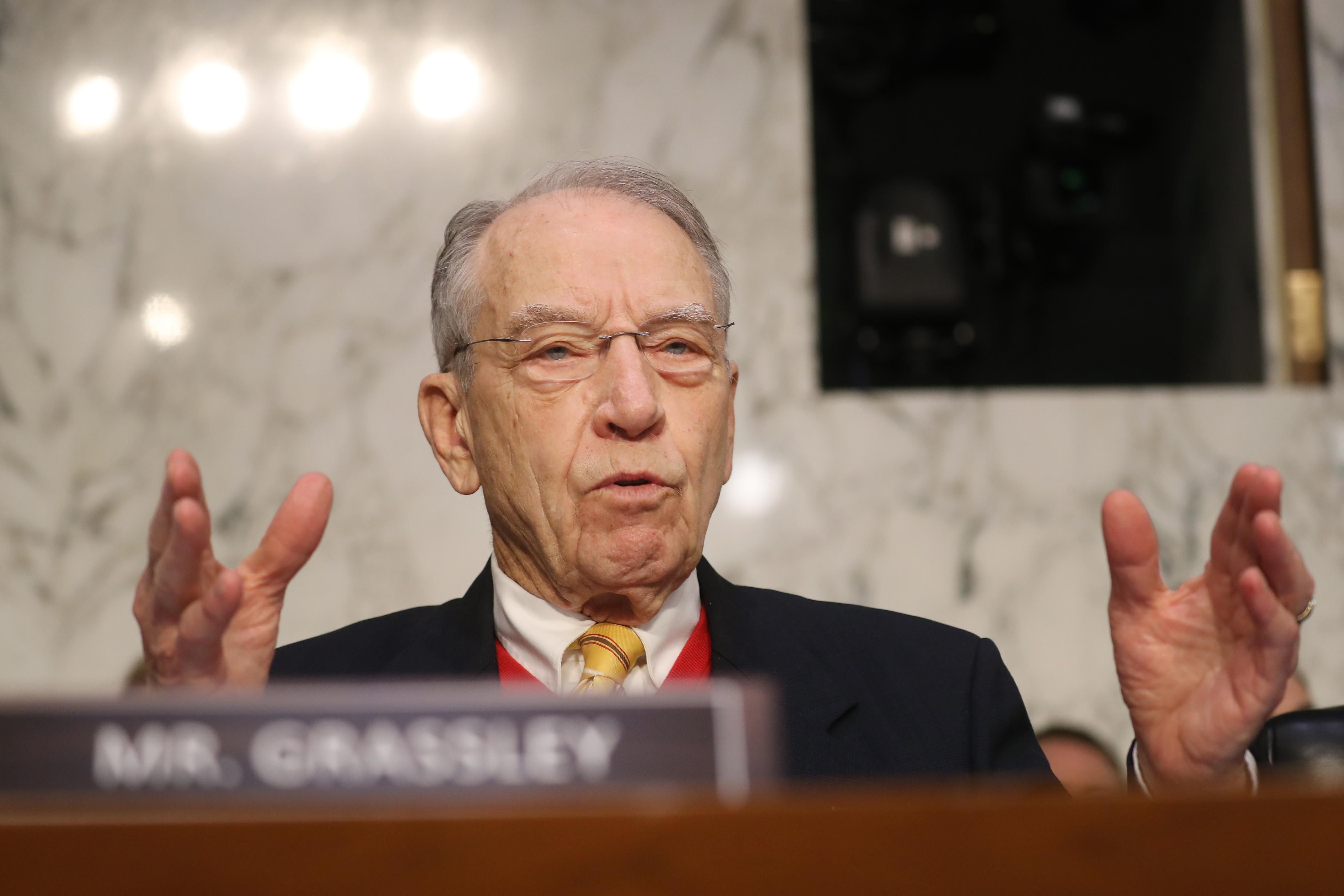 Sen. Grassley: The president is 'a little bit wrong' on national emergency