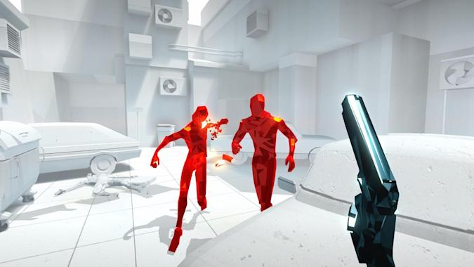 Time-twisting shooter 'Superhot' arrives on February 25th