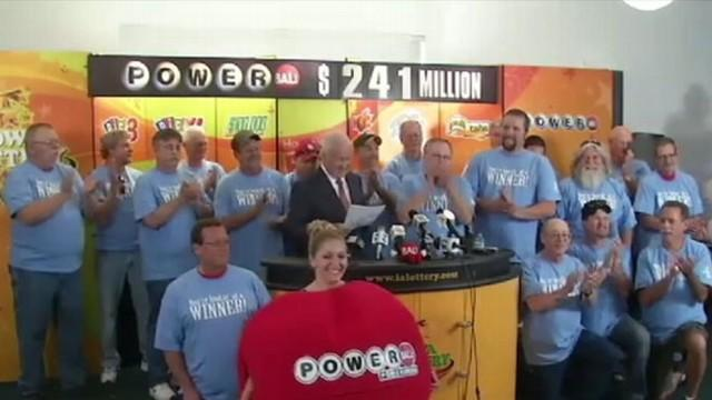 Iowa Lottery Winners to Share $241 Million