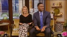 The Awkwardness Continues on 'Live With Kelly and Michael'