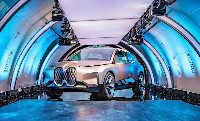 BMW unveils its vision for the 'iFuture' of luxury vehicles