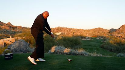You can't mock Barkley's golf swing anymore