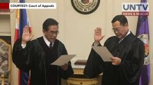 New presiding justice of the Court of Appeals takes oath