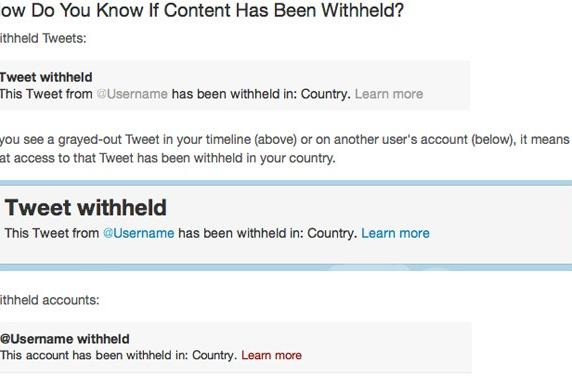 Twitter to begin 'reactively' censoring tweets in specific countries, still no love for China