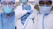 El vídeo que muestra cómo deberían protegerse los sanitarios frente al coronavirus
