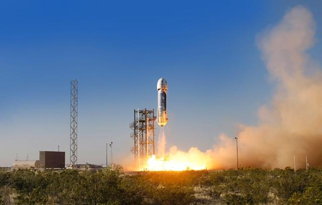 Blue Origin isn't interested in a race with SpaceX