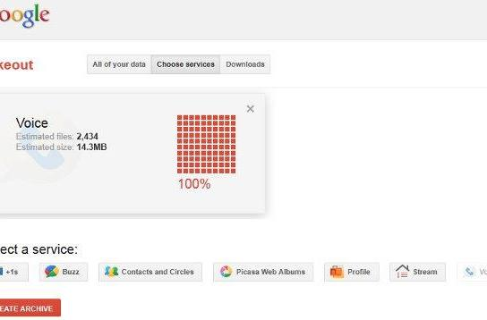 Google Takeout comes to Voice, get your SMS and voicemail to go (video)